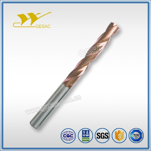 5D External Coolant Carbide Drill for Cast Iron Machining