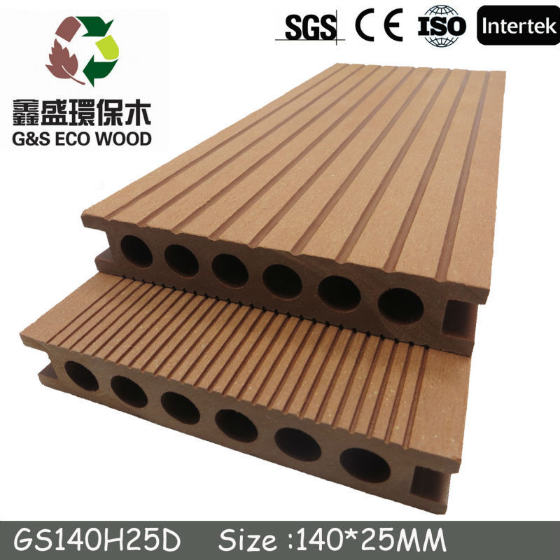 newteck 2015 Hot sale!water resistance wpc flooring. High quality, CE certificate, wood plastic composite decking /wpc board