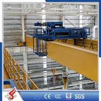 Explosion Proof Electrical Traveling Bridge Crane Design with Cap.50Ton