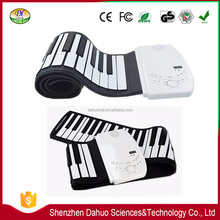 Eco-friendly fashion 61keys roll up keyboard digital piano
