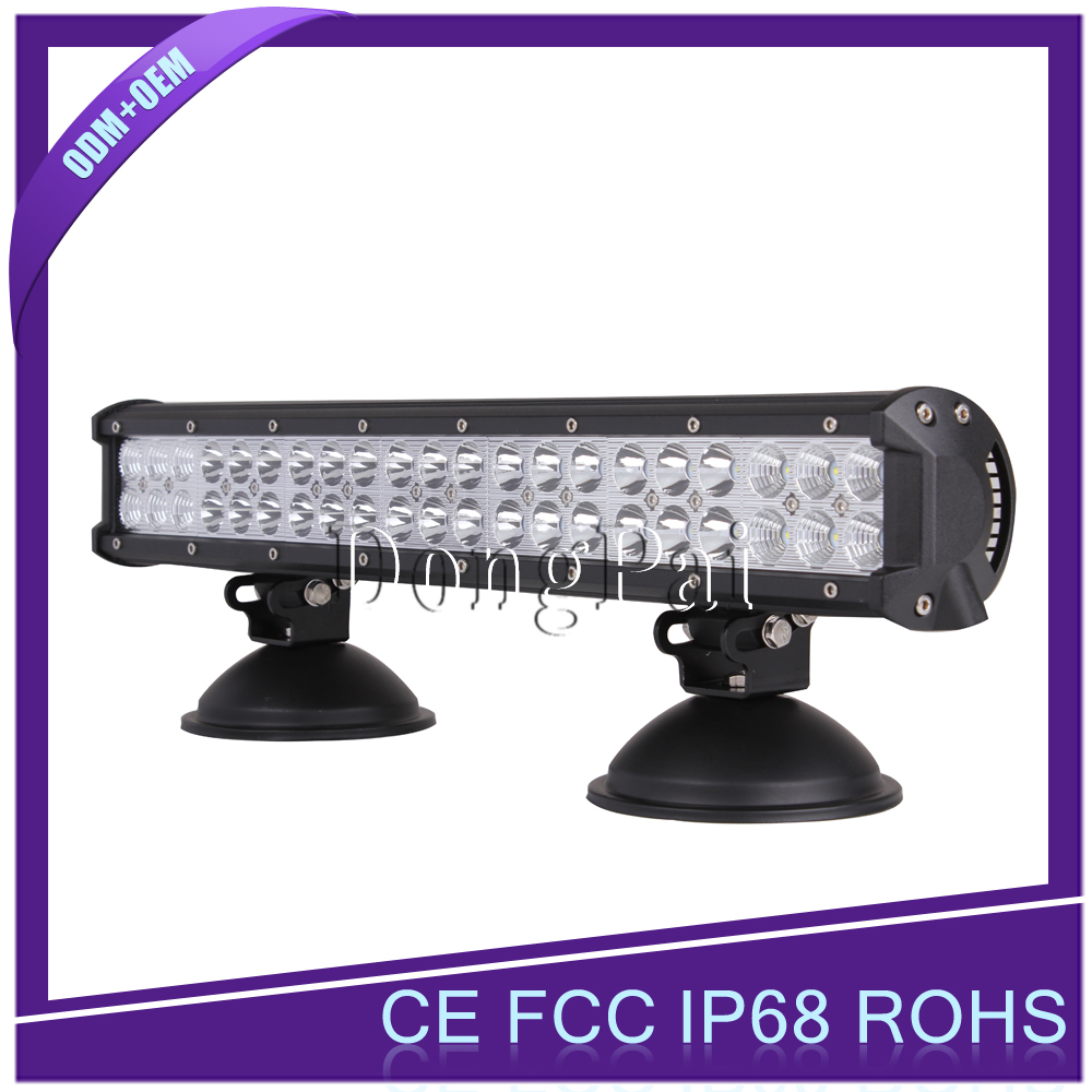 Car accessory 20 inch 126W led light bar 126w 4x4 offroad led light bar led car light for mini jeep, trucks, suv