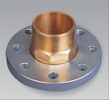 Copper Plated Female Steel Flange