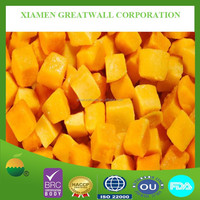 New crop frozen (IQF) mango dices
