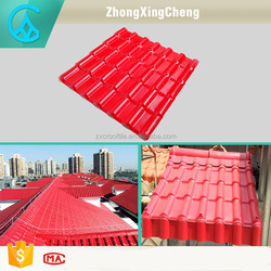 Hot sale synthetic resin red asphalt shingles/ roofing shingles