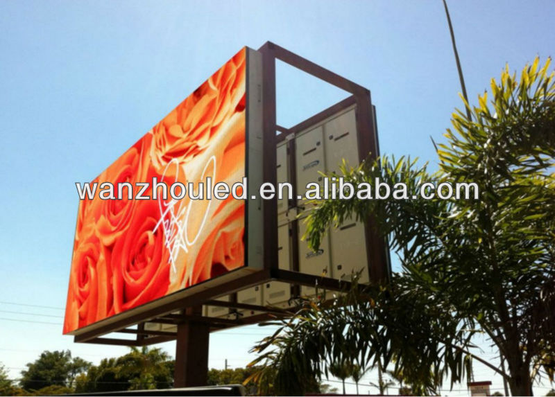 new electronical inventions p10 outdoor full color led billboard screen