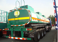 CIMC FUWA axle fuel tanker trailer truck and trailer dimensions
