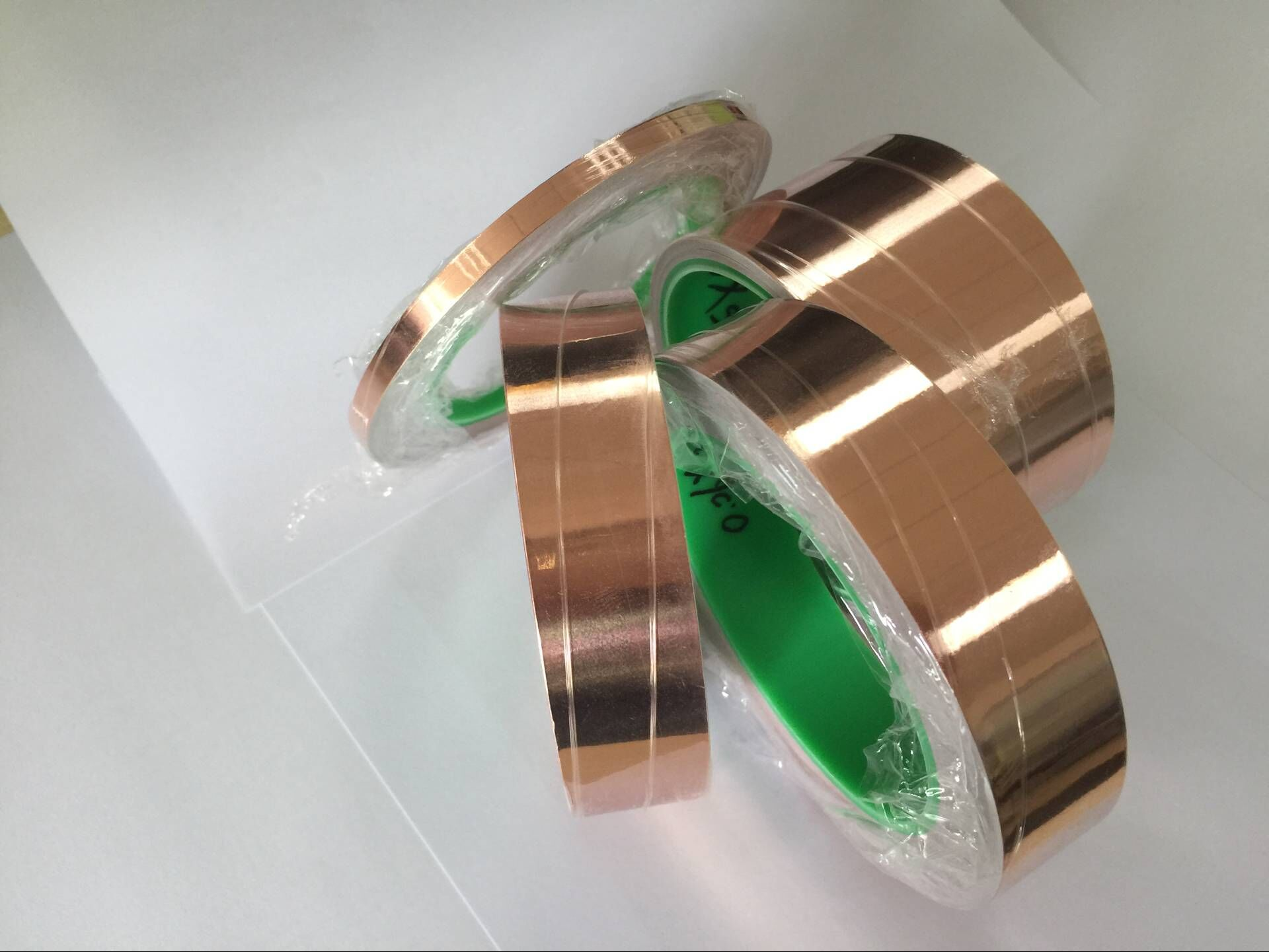 The  Double Guided Copper Foil Tape For Electronics with Huayuan
