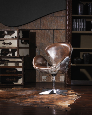 hot selling leather swivel bar stool chair K620A