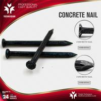 Hot selling spiral steel concrete nails electro galvanized concrete steel nails for sale with great price