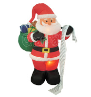 LED Light Santa Claus Inflatable Christmas Decoration Home Decor
