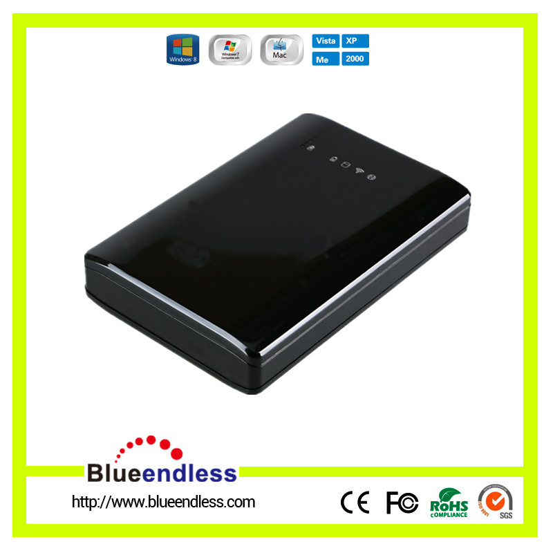 MOBILE USB 3.0 to SATA 2.5 Inch WiFi HDD ENCLOSURE 9.5mm HDD Case