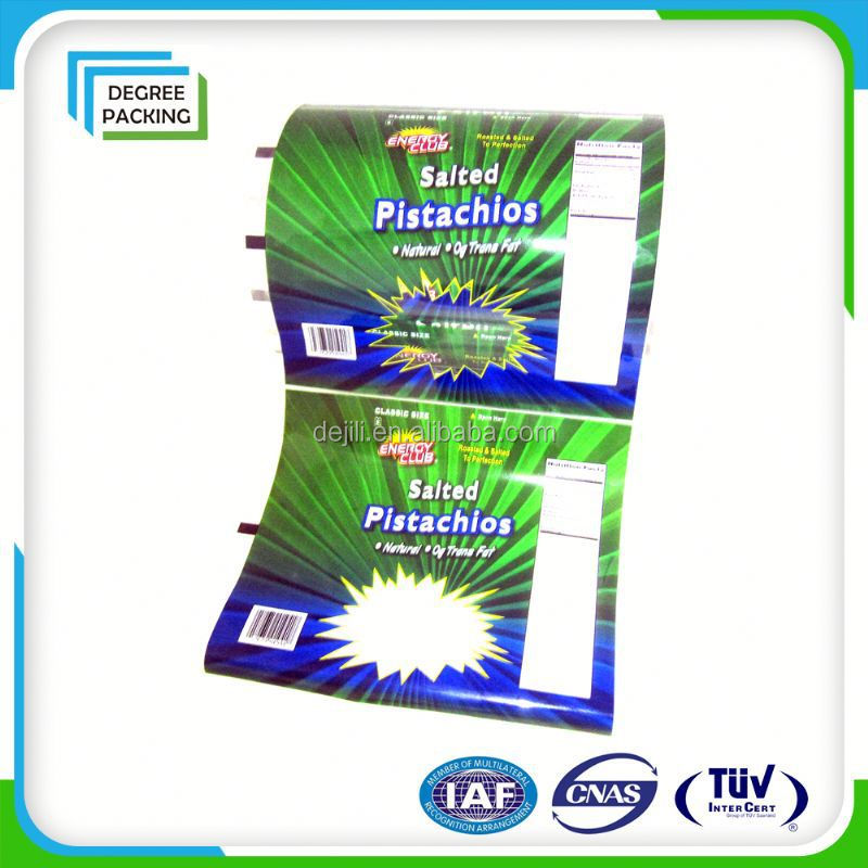 Clear opp film with high quality attractive printing