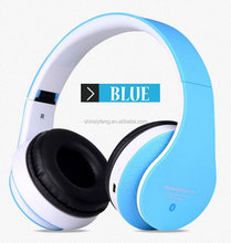 Wireless Cellphone STN-12 Earphone Bluetooth Stereo Headset 5 Colors For Mobile CellPhone Laptop Tablet PC with SD card slot FM