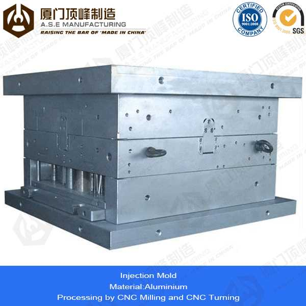 Xiamen A.S.E OEM Manufacturing Mold Parts for plastic injection test tube molds