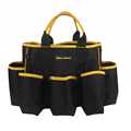 heavy duty handy open top tools tote bag garden bucket organizer bag