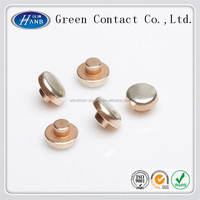 Manufacturer Use for Wall Switch Brass Copper Silver Bimetal Rivets Electrical Contact Point