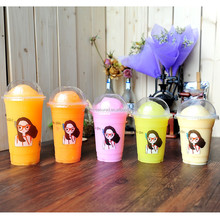 2016 Eco-friendly Ice Cream PP Plastic Cup with Lid Selling Well Ice Cream PP Cup