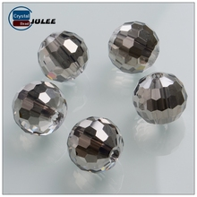 New fashion Pujiang crystal beads manufacturer 96 faceted round 12mm wholesale beads landing