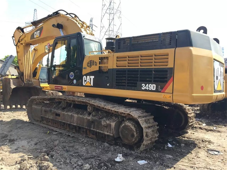 49 Ton Used Mining Equipment Excavator 349D 349DL For Sale