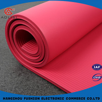 Eco-friendly reclaimed material nbr yoga mat wholesale