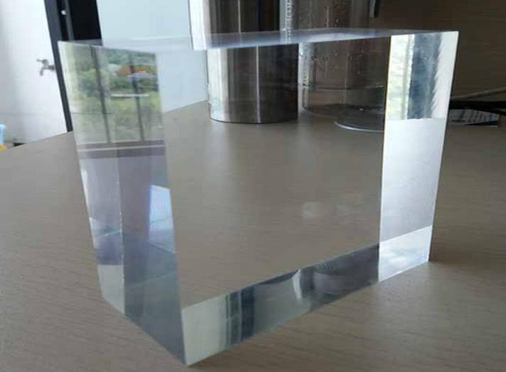 China supplier PMMA transparent color acrylic plate