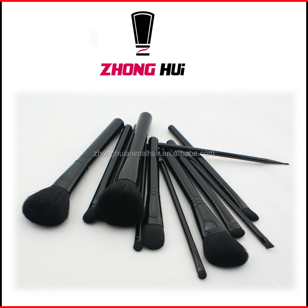 brand name custom made brush set make up