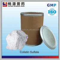 Manufacturers supply Veterinary Antibiotic colistin sulphate for animal