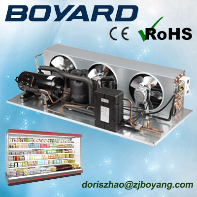 zhejiang boyard <strong>r134</strong> r404a van refrigeration unit with walk in freezer compressor for ice cream refrigerator container