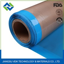 PTFE glass fiber fabric Teflon adhesive tape with silicone adhesive