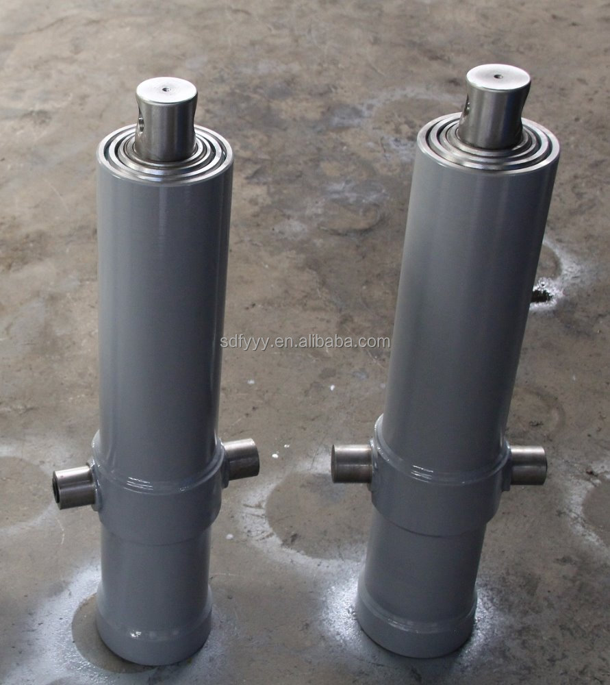 front end loader hydraulic cylinder/hydraulic cylinder manufacturer/hydraulic telescopic cylinder for lifting