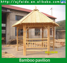 FD-16510Factory beautiful bamboo patio/bamboo pavilion/bamboo house