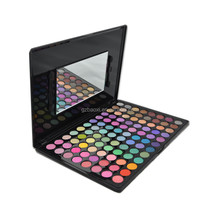 96 color long-wearing water proof eyeshadow palette with mirror makeup palette private label contour palette