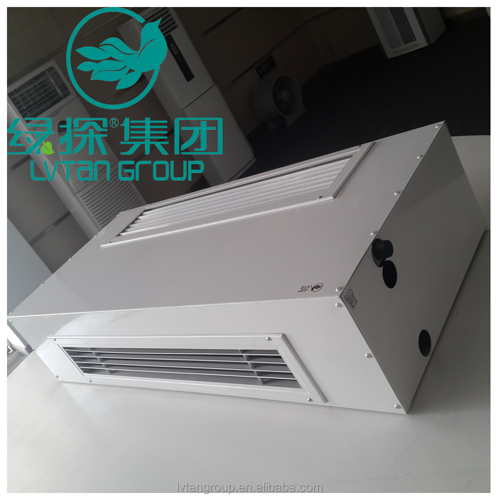 Chilled water duct split fan coil unit