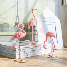 Resin pink flamingo figurine