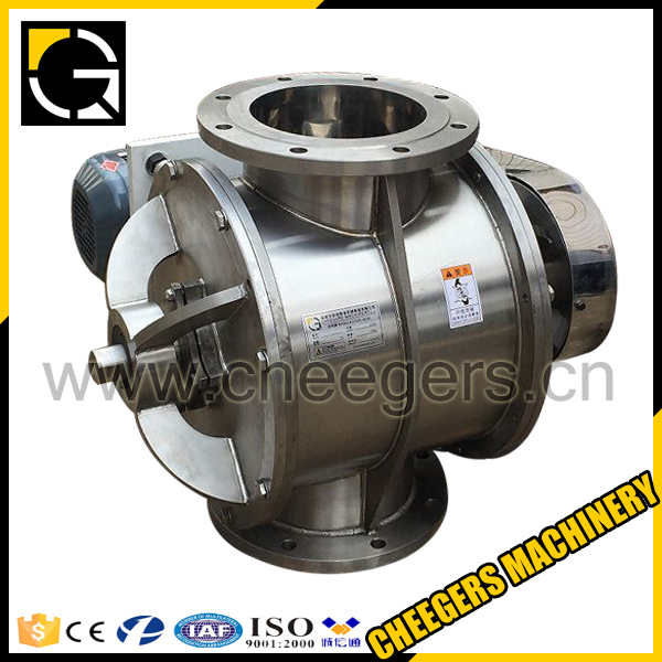 CE ISO Industrial Factory Stainless Steel 304 316 Rotary Valve for Gluten Meal Gilsonite Germ (Corn)