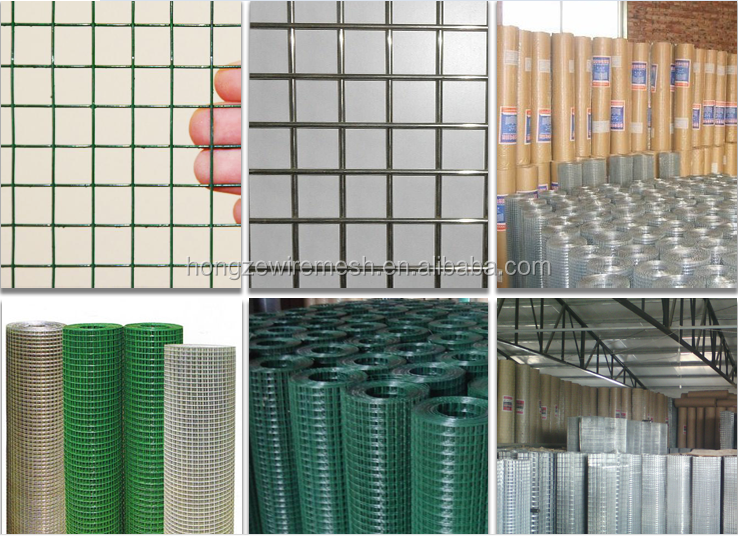 2x2 galvanized welded wire mesh, wire mesh panel, welded rabbit cage wire mesh for sale