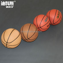 Size 6 Customized Logo Inflatable Ball Basketball/PU/Microfiber