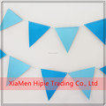 4.5 Metre Coloured Bunting Paper Party Banner 24 Pennant Triangle Flag
