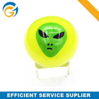 Rubber Ball With Flashing Light Promotional Flashing Bouncing Ball