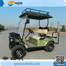 Top Quality With Four wheels Cute Single Seat Electric Golf Cart/Cheap Golf Cart for Sale