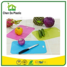 2017 hot sale 39*26 cm pp tpe north america market FDA chopping board kitchen accessories tools for fruit