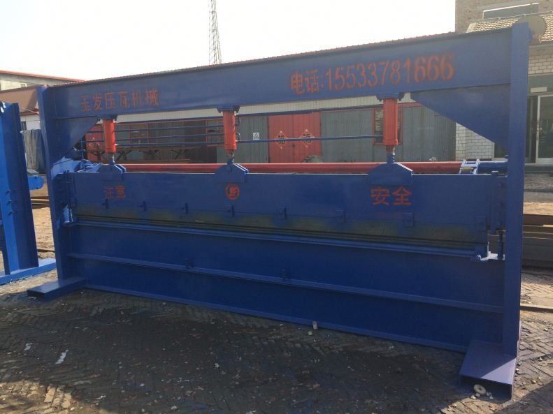roof sheet yufa 900 cold bending forming machine for building