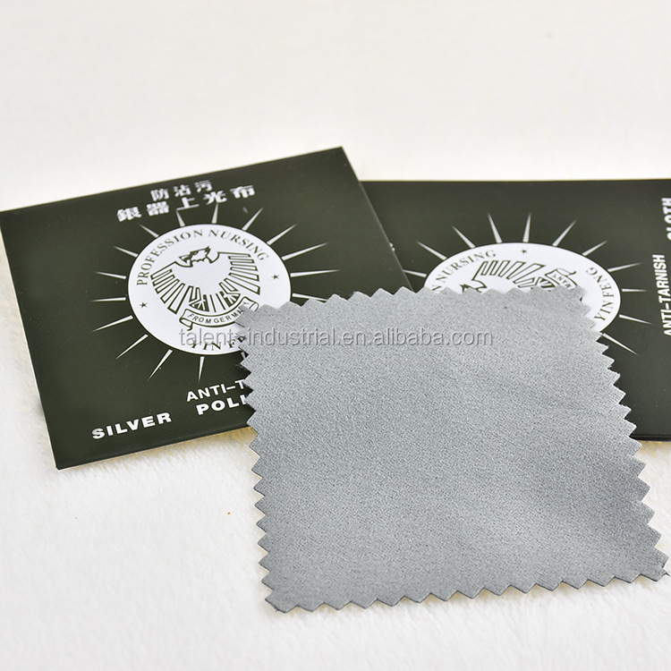Microfiber jewelry Polishing Cleaning Cloth