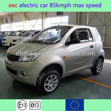 Hot Sales E-King EEC L7e Certificate NEW Smart Style Electric Car With 85km/h Max Speed and 160Km Range