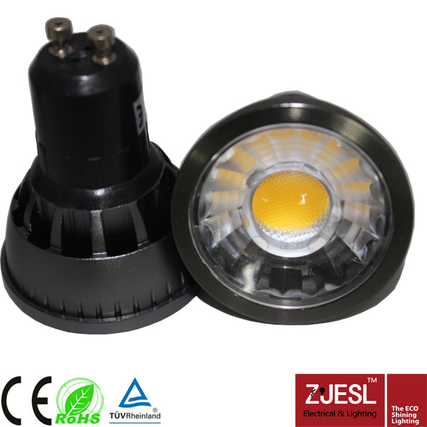 High Power led spot light 5w 6w cob gu10 led bulb lights dimmable ce rohs