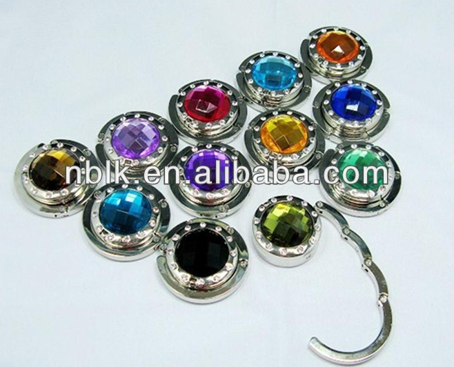 Promotional Gift Foldable Magnet Purse Hook
