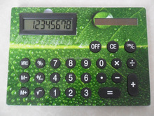 New A4 big button cartoon solar desktop calculator