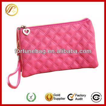 Colorful pretty flat frame wallets for women