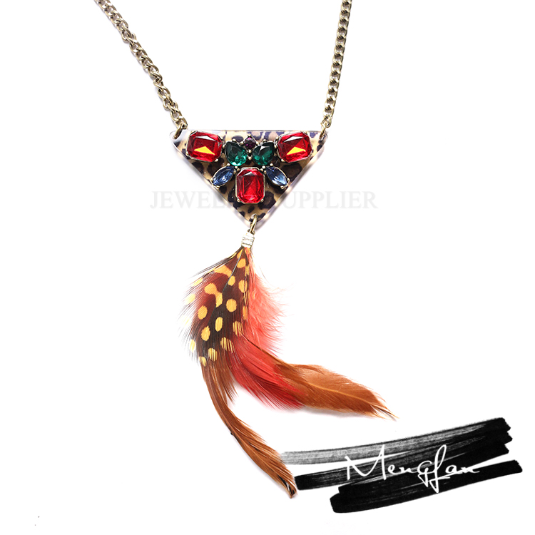 Quality-assured necklace feather meaning