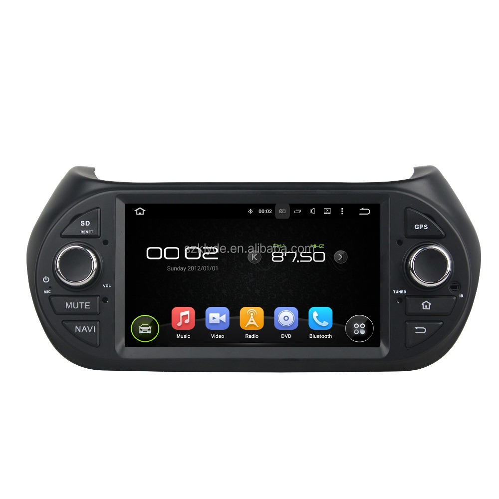 Support original car rear camera and amplifier and USB android 5.1.1 car stereo system for Citroen Nemo/Peugeot Bipper